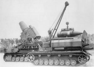 German Siege Gun
